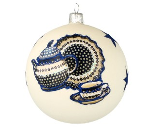 Christmas ball Vitbis 10 cm- limited edition 4