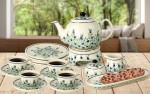 Tea and coffee set for 4 ZH5DEK1208