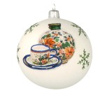 Christmas ball Vitbis 10 cm- limited edition 5