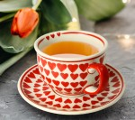 Cup and saucer V 0,2 L Love
