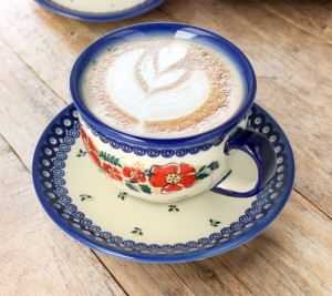 Cup and saucer V 0,2 L Stokrotka