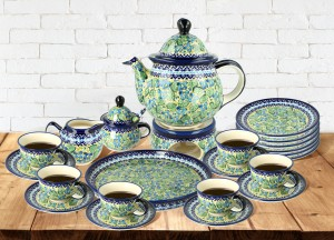 Tea and coffee set for 6 ZH3DEK248Art