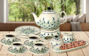 Coffee/ Tea set for 4 decoration 1208