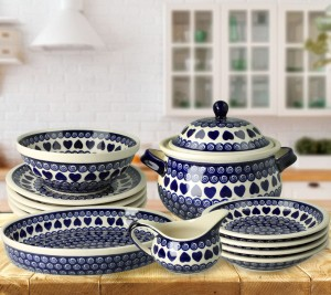 Dinner set for 4 decoration 467