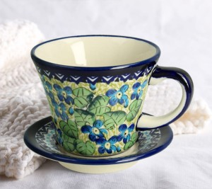 Cup and saucer V 0,24 L ø 11,7 cm GU1802DEK248Art