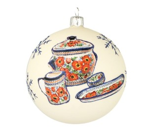 Christmas ball Vitbis 10 cm- limited edition 7