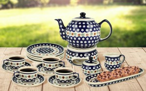 Coffee/ Tea set for 4 decoration 41