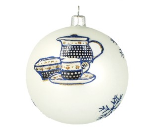 Christmas ball Vitbis 10 cm- limited edition 3