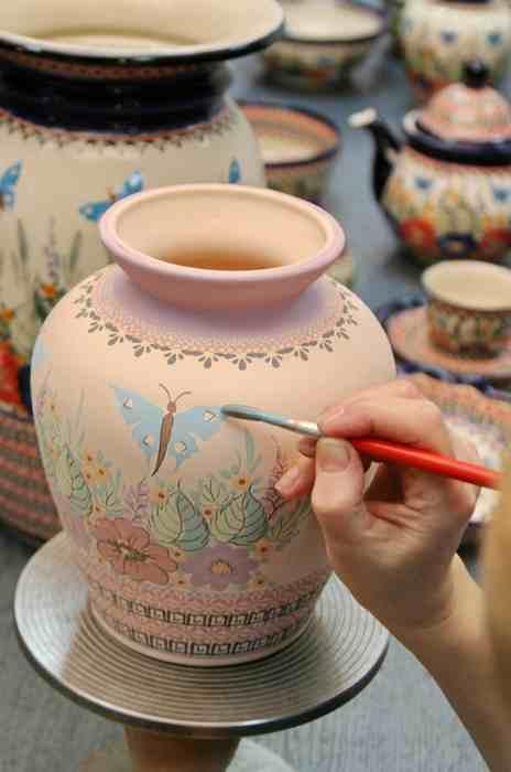 Malowanie ceramika bolesławiec