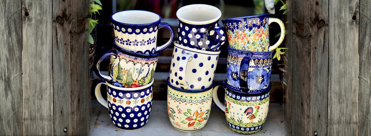 Porcelana Bolesławiec Serwis Obiadowy Fnt59 Usafrica