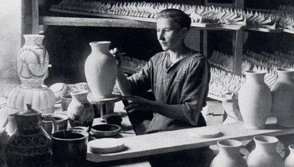 formowanie ceramiki Bolesławieckiej
